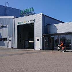 DEKRA-Arendal-Bilbesiktning-Bilprovning